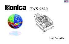Buy Konica 9820URG Service Schematics by download #136358