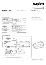 Buy Sanyo SC-270(PL6510290) Manual by download #175196