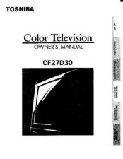 Buy Toshiba cf27f50 Manual by download #171911