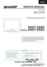 Buy Sharp 54GT25SC-26SC SM GB Manual.pdf_page_1 by download #178658