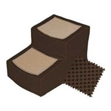 Buy Pet Gear Designer Pet Stair II with Removable Cover Chocolate