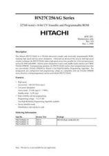 Buy Hitachi X 256AG Manual by download Mauritron #184668