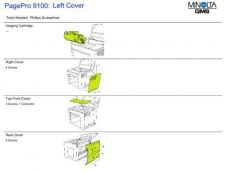 Buy MINOLTA C left Service Manual by download #138017