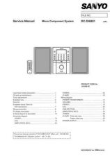 Buy Sanyo DC-DA90-02 Manual by download #173886