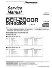 Buy PIONEER C2284 Service Data by download #152527