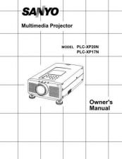 Buy Sanyo PLCXF12NL Manual by download #174866