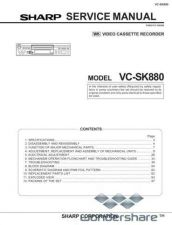 Buy Sharp 69 VCSK880 Manual.pdf_page_1 by download #178795