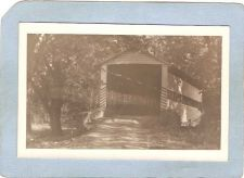 Buy GEN Unknown Covered Bridge Postcard Covered Bridge Real Photo Post Card RP~1044