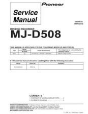 Buy PIONEER R2172 Service Data by download #149470