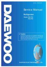 Buy Daewoo Model FR-197 Manual by download #168590