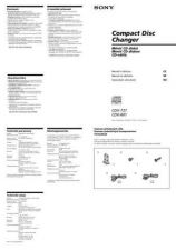 Buy SONY CDX-444RF CZ-SCREEN OPERATING GUIDE by download #166612