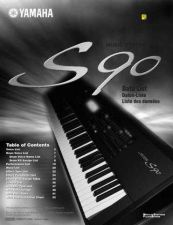 Buy Yamaha S90E2 Operating Guide by download Mauritron #205259