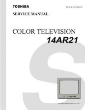 Buy TOSHIBA 14AR21 TV SERVICE INFO by download #129093