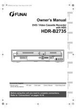 Buy Funai HDR-B2735 E434CBD EN 0214 BYR1 Operating Guide by download #162632