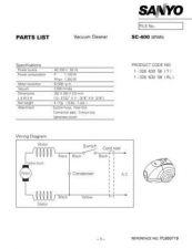 Buy Sanyo SC-B1220(PL6510021)) Manual by download #175285
