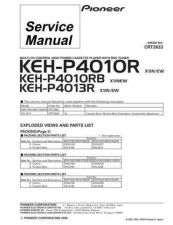 Buy PIONEER C2633 Service Data by download #152740