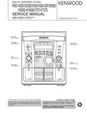 Buy KENWOOD RXD-V333 535 636 737 Service Schematics by download #131658