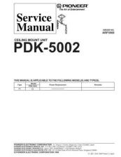 Buy PIONEER A3008 Service Data by download #148639