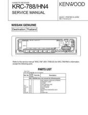 Buy KENWOOD KRC-709 779R RY 889 Technical Info by download #151959