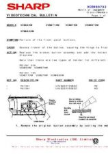 Buy Sharp VCMH68HM-005 Service Schematics by download #159108