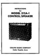 Buy Collins 312A-1- 02-52 Service Schematics by download #154477