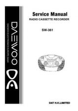 Buy Daewoo SW-361 (E) Service Manual by download #155126