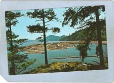 Buy CAN Vancouver Postcard Log Booming Grounds can_box1~143