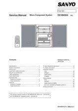 Buy Sanyo DC-AVD8501-07(1) Manual by download #173838