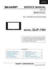 Buy Sharp 32JF73E-EES SM 00VERS GB(1) Manual by download #170026