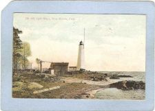 Buy CT New Haven Lighthouse Postcard New Haven Lighthouse lighthouse_box1, ct_~110