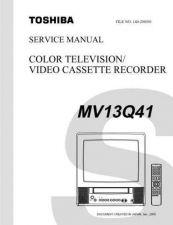 Buy TOSHIBA MV13Q41SVM Service Schematics by download #160241