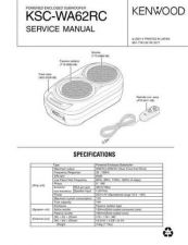 Buy KENWOOD KSC-WA62RC Technical Info by download #151986