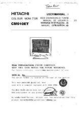 Buy Sanyo CM610ET EN Manual by download #173480