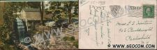 Buy CT New London Postcard Old Town Mill Erected 1650 w/Horse & Wagon ct_box4~1929