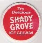 Buy CA maverick Milk Bottle Cap Name/Subject: Shady Grove Ice Cream~252