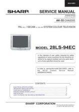 Buy Sharp 28LF94E SM GB(1) Manual by download #169944