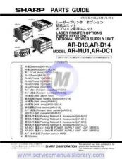 Buy Sharp ARD21-D22 PG GB Manual by download #179551