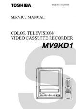 Buy TOSHIBA MV9KD1 Service Schematics by download #160287