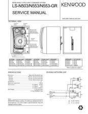 Buy KENWOOD LS-N503 553 Service Data by download #132762