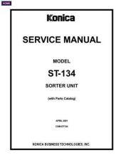 Buy Konica ST134PC Service Schematics by download #135743
