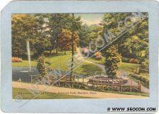 Buy CT Meriden Postcard Swimming Pool & Pathway Hubbard Park ct_box3~1250
