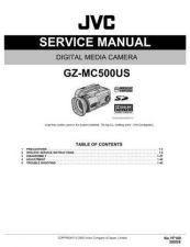 Buy JVC GZ-MC500US Service Schematics by download #155883