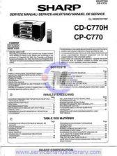 Buy Sharp CD-CPC413H SM GB(1) Manual by download #179991
