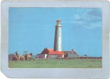 Buy CAN Quebec Lighthouse Postcard The Lighthouse Near Cap Des Rosiers lightho~982