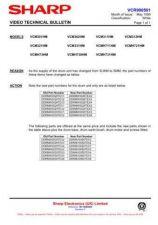 Buy Sharp VCM311HM-012 Service Schematics by download #158934