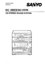 Buy Sanyo DC-X300D Operating Guide by download #169237