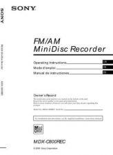 Buy SONY MDX-G77REC by download #128909