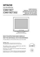Buy Sanyo CM615ET IT Manual by download #173489