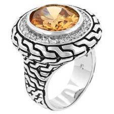 Buy Vancouver Champagne Cz Ring (size: 06)