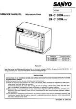 Buy Sanyo Service Manual For EM2610N Manual by download #175734
